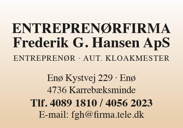 Entreprenørfirma Frederik G. Hansen ApS